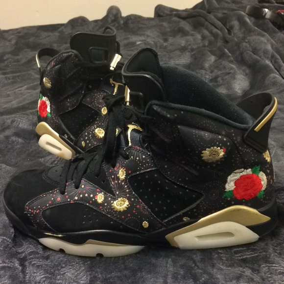 online store 5053f ce6fa Nike Air Jordan 6 Retro VI Chinese New Year 10.5